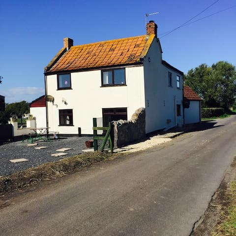 Brambles cottage Lympsham Somerset - Lympsham - Huis