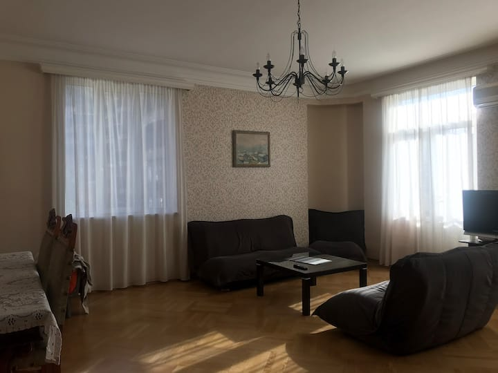 Sunny apartment and very comforting atmosphere