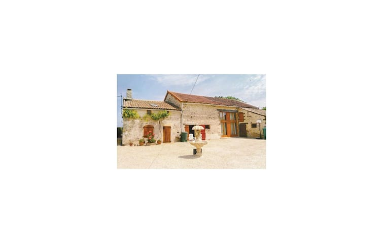 Holiday cottage with 2 bedrooms on 80m² in Chaunay