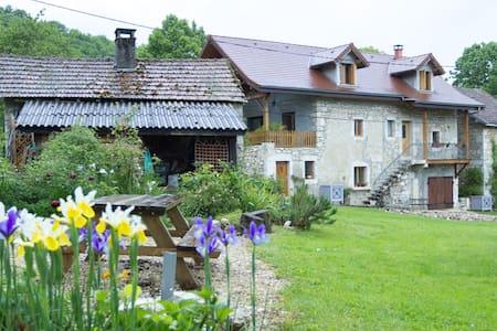 Near lake and mountains - Saint-Pierre-de-Curtille - 独立屋