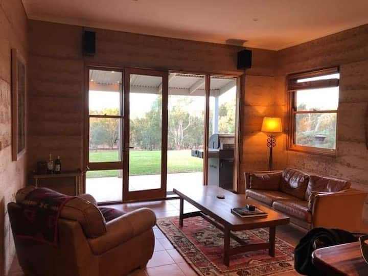 Rammed Earth House Mansfield