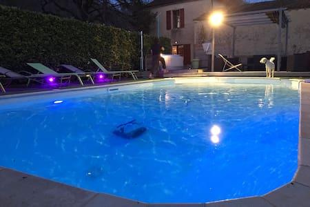 Moulin, piscine chauffée, spa,sauna - Beaumont-du-Périgord