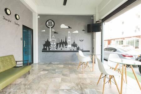 Hostel'33, Bedroom#1, 1 Double Bed - Bangkok - Vandrerhjem