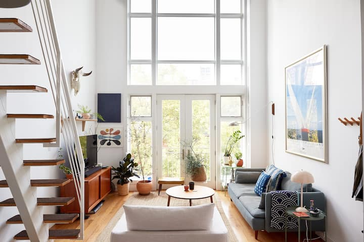 Bright Penthouse Loft in Clinton Hill