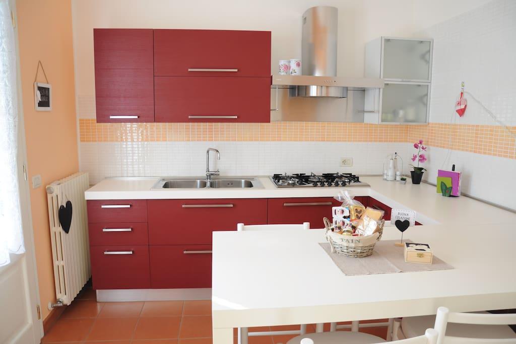 La cucina B&B Le Magnolie