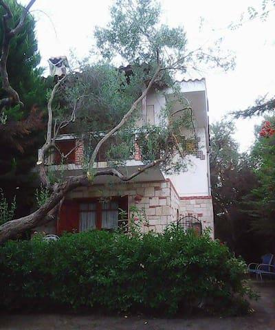 Μεζονέτα με κήπο, πολύ κοντά στη θάλασσα Πολύχρονο - Polychrono - House
