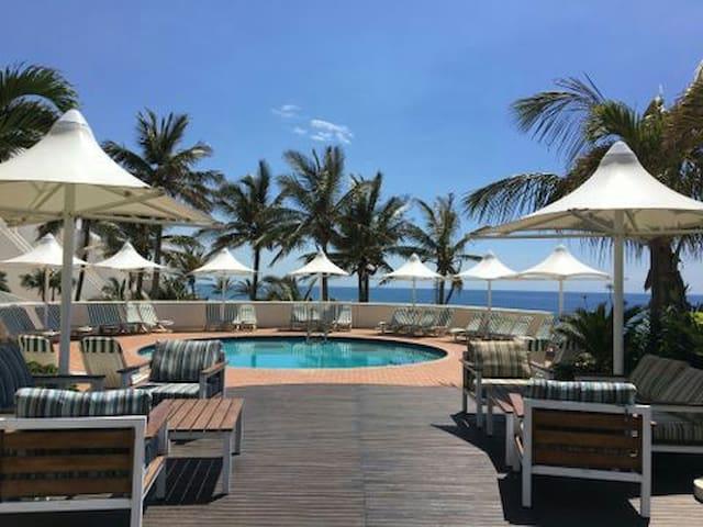 Umhlanga sands holiday resort.
