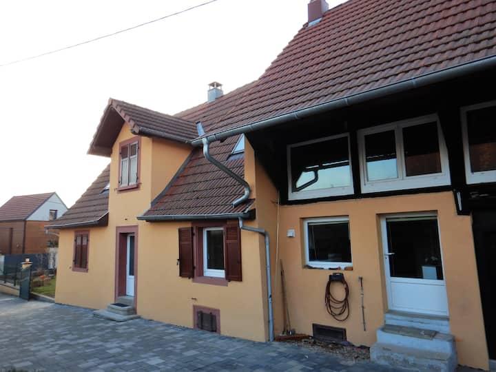 Charmante maison alsacienne à 10mn de Colmar