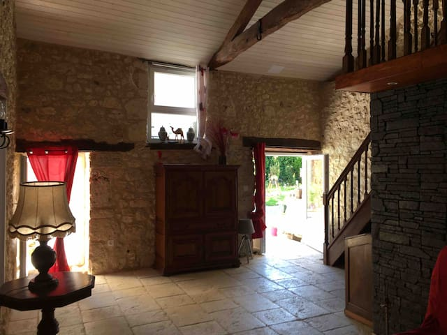 Chambres  apart individuelle 4Pers proche Issigeac