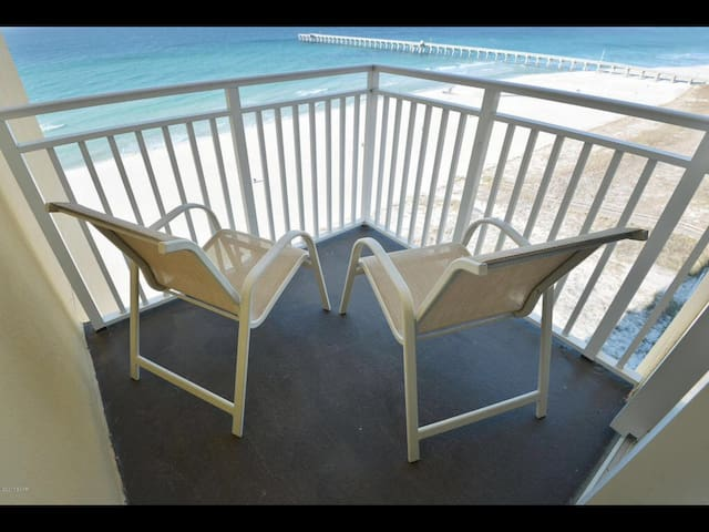 Beachfront Resort Studio with Private Balcony!