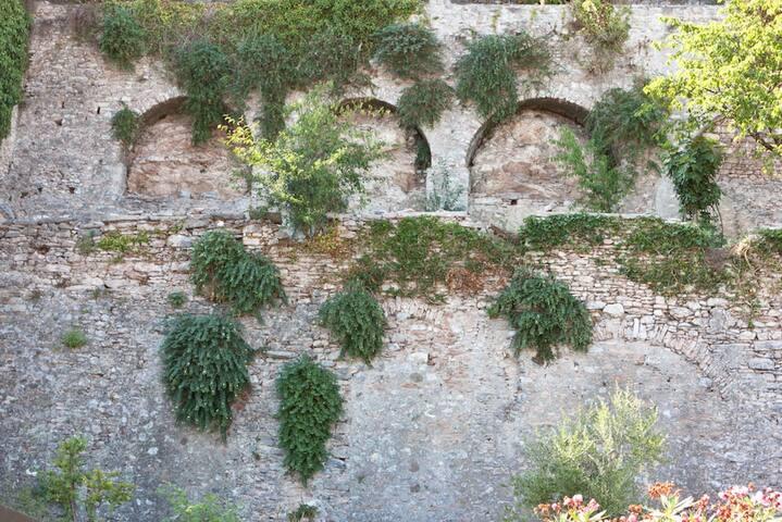 muri della limonaia
