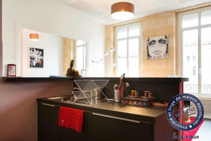 Nice apartment for 2 people in Bordeaux