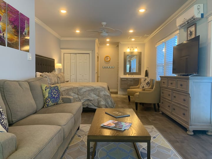 Beautiful Seawall Blvd Ocean View Guest Suite (B)