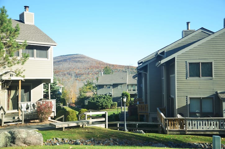 Charming 4 Season Slopeside Condo at Hunter Mnt. - Hunter - Condominium
