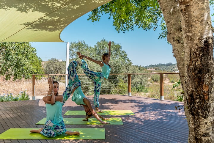 Yoga Retreat Group Accommodation Villa in Portugal