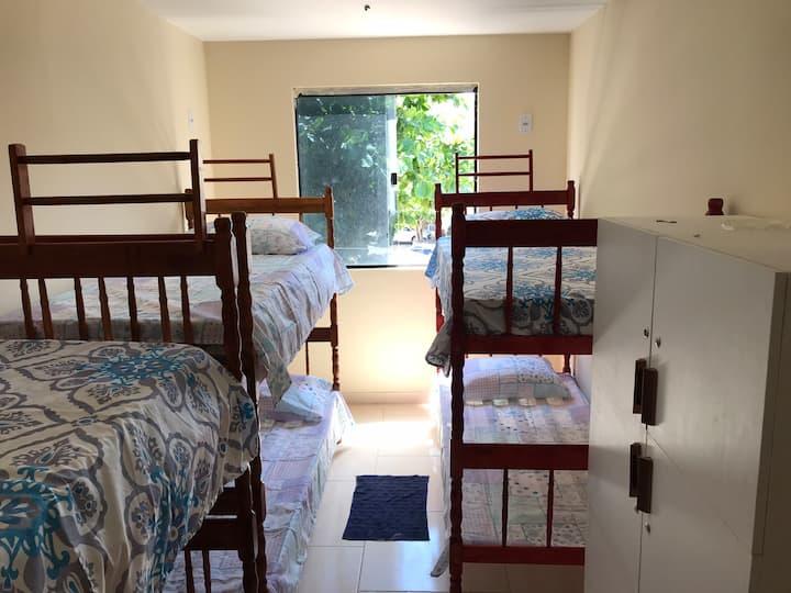 Ohana Hostel (Quarto 1 - Compartilhado )