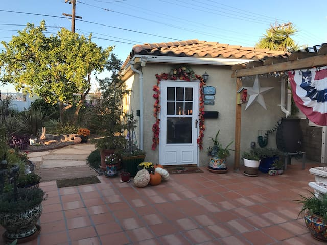 Our Garden Cottage: A home away from home.