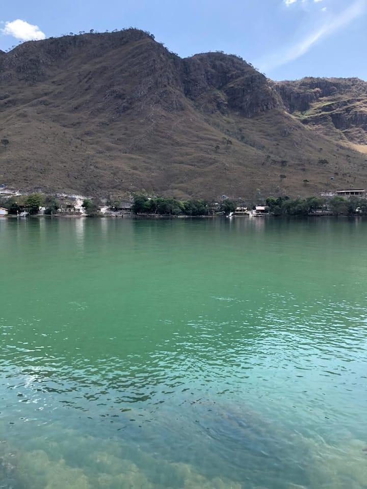 Estância Rio Grande: casa com vista, em Peixoto