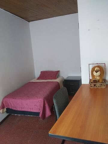 Habitación individual para turistas