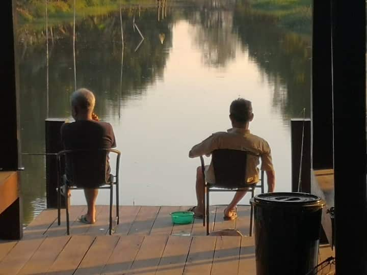 FAMILY GARDEN HOMESTAY ALL YOU CAN Fishing