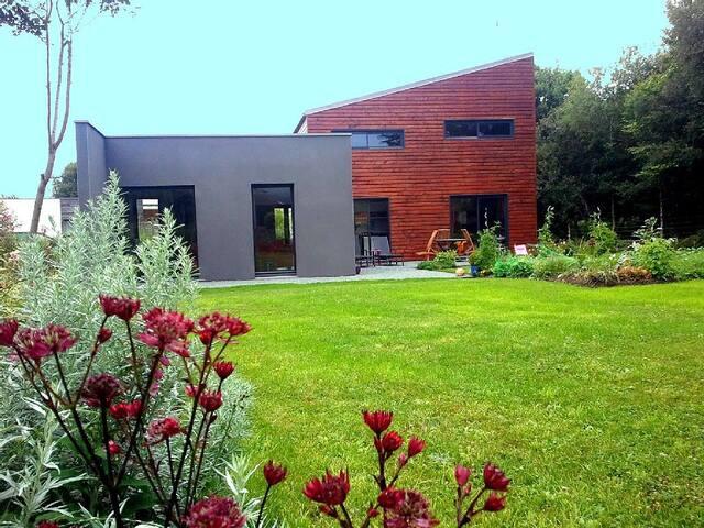 Maison lumineuse en bois - Trébeurden - House
