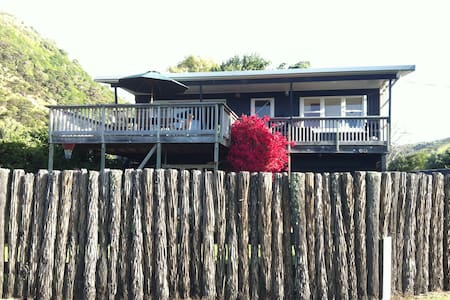 Watch the Sunset from the deck - Port Waikato