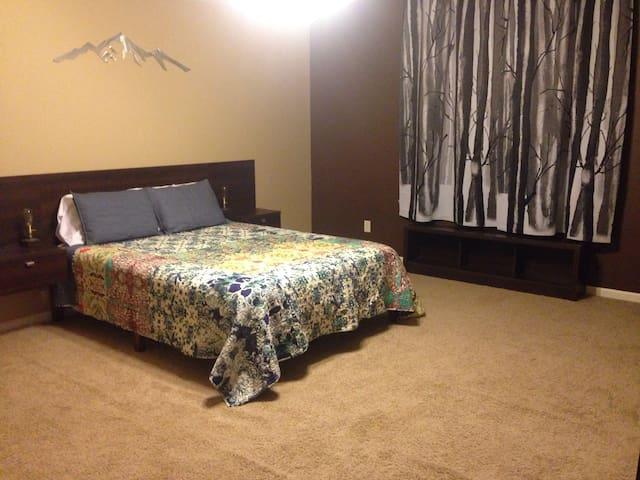 Great non-smoking master suite!