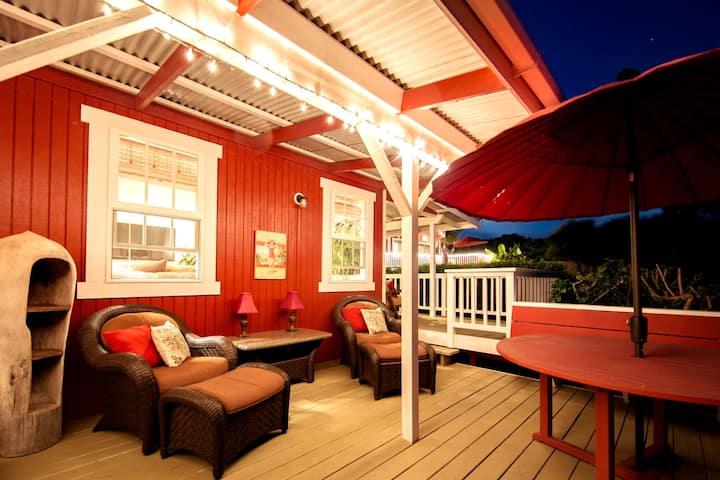 Red 'Ohana 2 bd Near Mauna Kea Beach in Waimea
