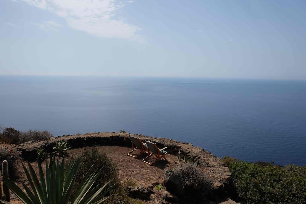 Terrazze sul mare a più livelli
