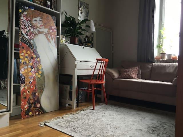 Beautiful one room apartment in Kallio