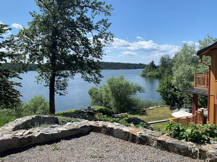 Waterfront 20 min to Stockholm City
