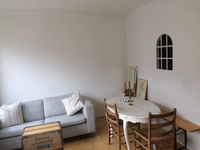 Small 2-room flat in Nørrebro, Copenhagen.