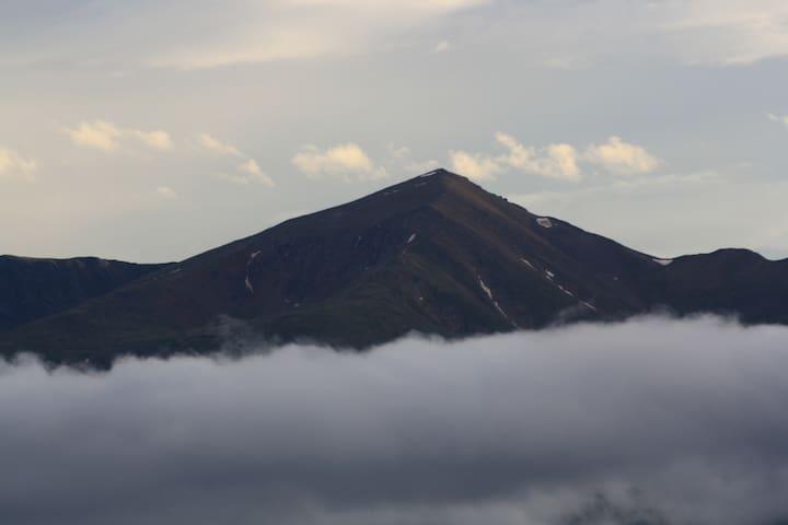 Mount Elbert, the state's highest peak