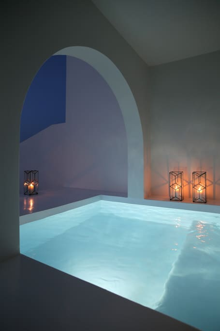Jacuzzi by night !!!
