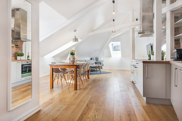 New cozy penthouse apartment in Oslo