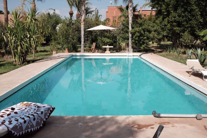 Villa à Marrakech avec piscine - Marrakech - House