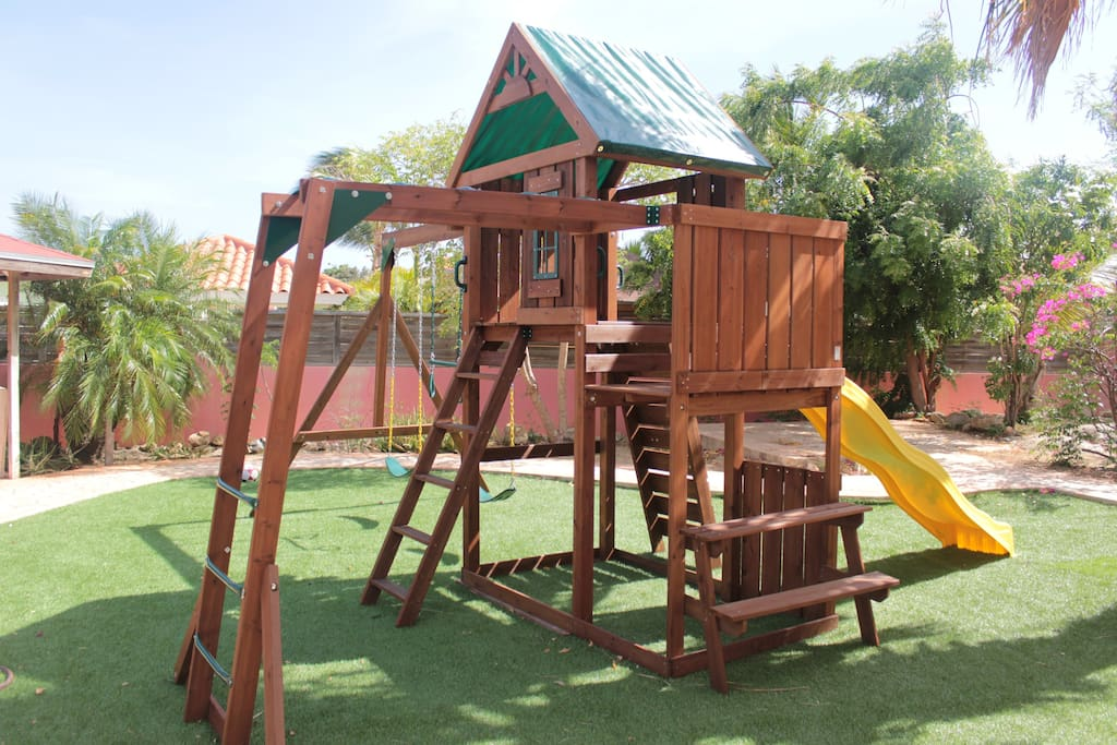 Playground suitable for kids