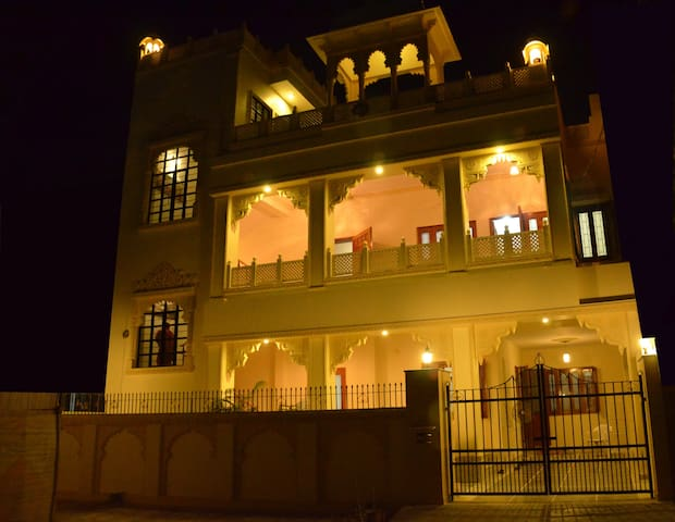 Magnificent Haveli in city - ideal family abode