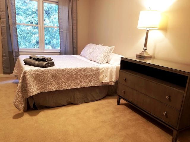 Pvt Master suite walk to Decatur, near Emory & CDC