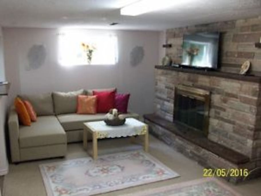 A Cozy Basement With Full Comfortable Equipment Houses For Rent In Toronto Ontario Canada