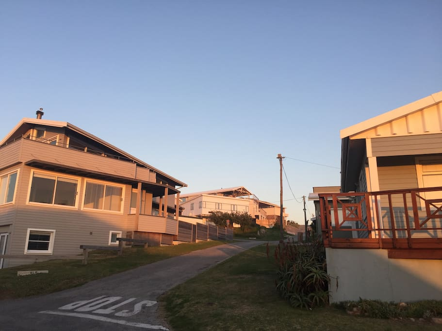 Street view. House on the left
