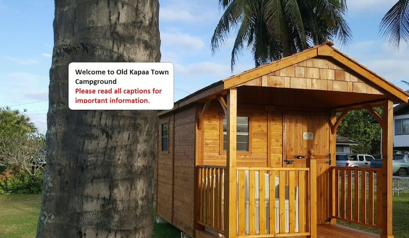 Bunkhouse 2 in Old Kapaa Town Campground - Kapaa - Cabane
