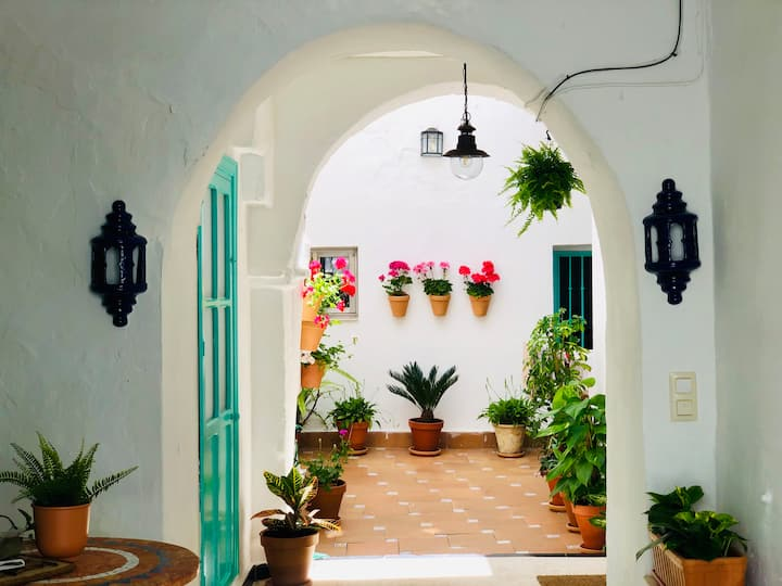 CASA TURQUESA IN VEJER OLD VILLAGE  + WIFI