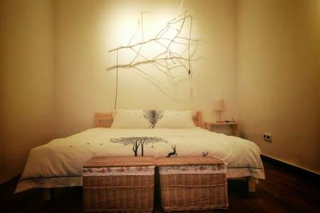 古北水镇,司马台长城脚下看星星的舒适文艺小院(大床房) - Beijing - Villa
