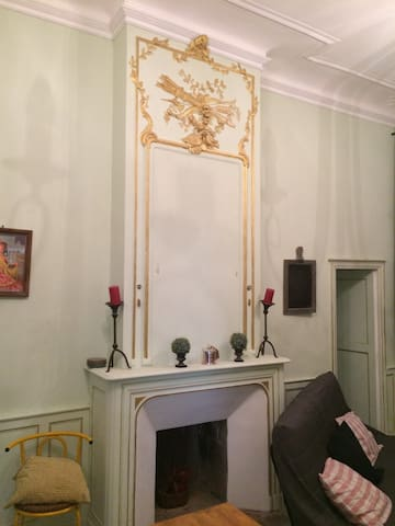 Gîte 6 pers dans maison de maître (La colombine) - Vicq-d'Auribat - Alojamento ecológico