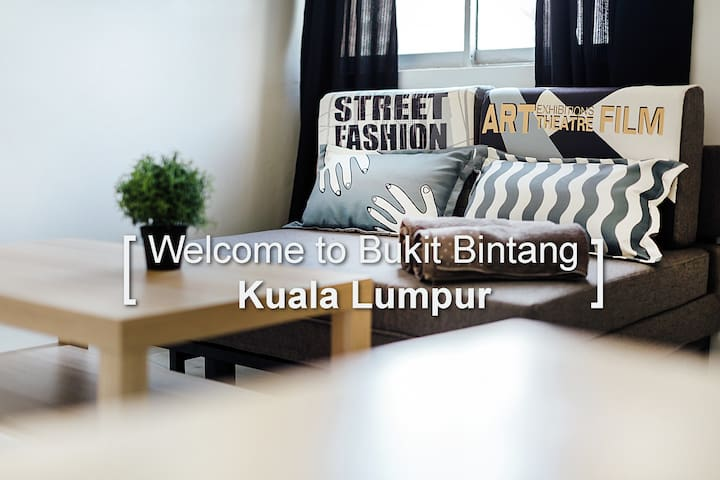 KS07- Truly Bright & Stylist Room in Bukit Bintang