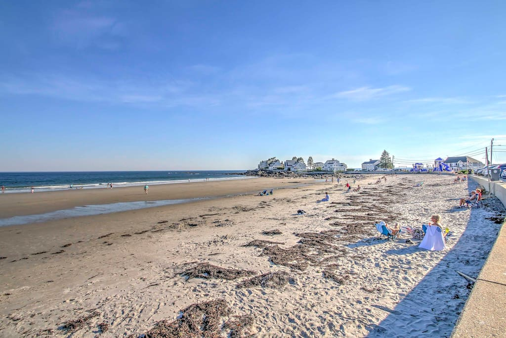 Walk 1 mile to some of Kennebunk's best beaches.