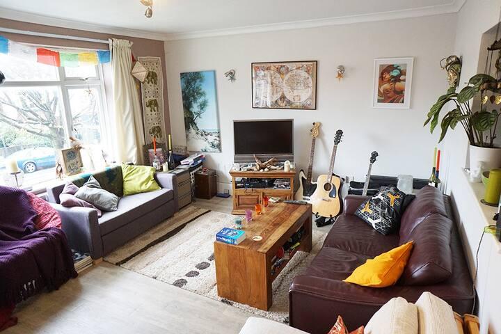 Big & Comfy Home near Brighton Station - Hove - Wohnung