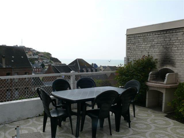 Maison plein pied vue mer - Ault - House