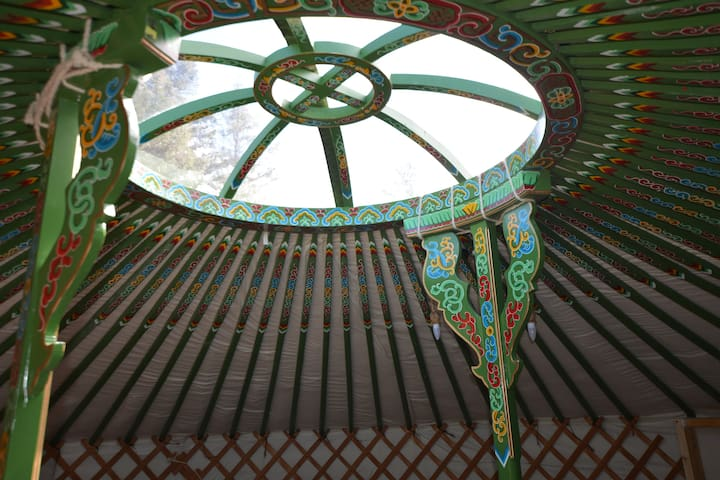 Clochforbie Authentic Mongolian Yurt (Green)